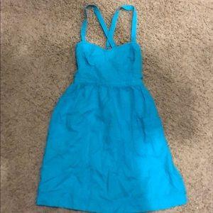 Aerie blue dress/swim suit cover up